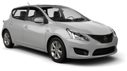 FLIZZR Car hire Paphos City Compact car - Nissan Tiida