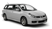 NISSAN Car hire Nagoya - Downtown Standard car - Nissan Wingroad