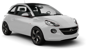 SIXT Car hire Waren Mini car - Opel Adam