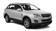 EUROPCAR Car hire Waren Suv car - Opel Antara
