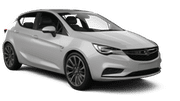 EUROPCAR Car hire Limassol City Compact car - Opel Astra