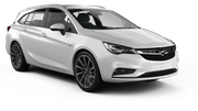 HERTZ Car hire Heviz - Downtown Standard car - Opel Astra Estate