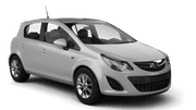 GET YOUR CAR Car hire Larnaca - Airport Economy car - Opel Corsa