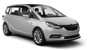 EUROPCAR Car hire Limassol City Van car - Opel Zafira