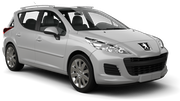 Hire Peugeot 207 Estate