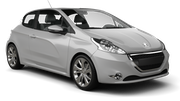 BUDGET Car hire Le Port Economy car - Peugeot 208