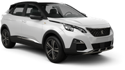 BUDGET Car hire Budapest - Downtown Suv car - Peugeot 3008