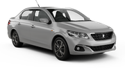 AVIS Car hire Budapest Airport - Terminal 2a Compact car - Peugeot 301