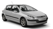 INTERNATIONAL Car hire Waren Compact car - Peugeot 307