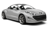 HERTZ Car hire Limassol City Convertible car - Peugeot 308 Convertible