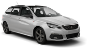 BUDGET Car hire Svolvaer Standard car - Peugeot 308 Estate
