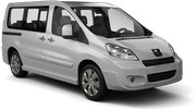 HERTZ Car hire Gosier - Building Shoca Van car - Peugeot Expert
