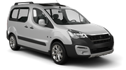 FIRST Car hire Balzan Downtown Van car - Peugeot Partner