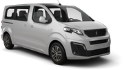 AUTO-UNION Car hire Balzan Downtown Van car - Peugeot Traveller