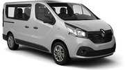 BUDGET Car hire Limassol City Van car - Renault Trafic