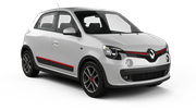 HERTZ Car hire Sainte Marie - Downtown Economy car - Renault Twingo