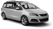 ALAMO Car hire London - Airport - Heathrow Van car - Seat Alhambra