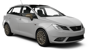 EUROPCAR Car hire Waren Standard car - Seat Ibiza Estate