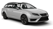 AVIS Car hire Waren Standard car - Seat Leon Estate