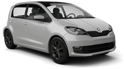 SIXT Car hire Brasov Mini car - Skoda Citigo