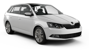 GREEN MOTION Car hire Dubrovnik - Airport Standard car - Skoda Fabia Estate