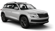 SIXT Car hire Brasov Suv car - Skoda Kodiaq
