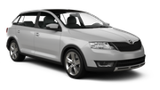 INTERRENT Car hire Riga - Airport Compact car - Skoda Rapid Spaceback