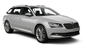 SIXT Car hire Waren Standard car - Skoda Superb Estate