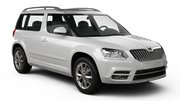 ALAMO Car hire Reykjavik - Keflavik International Airport Suv car - Skoda Yeti