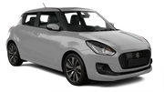 HERTZ Car hire Heviz - Downtown Economy car - Suzuki Swift