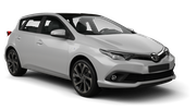EUROPCAR Car hire Sainte Marie - Downtown Compact car - Toyota Auris Hybrid