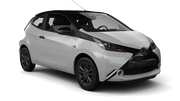 GLOBAL RENT A CAR Car hire Limassol City Mini car - Toyota Aygo