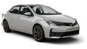 AVIS Car hire Francistown - Airport Compact car - Toyota Corolla