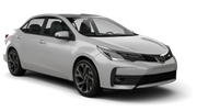 TIMES Car hire Kisarazu - Downtown Standard car - Toyota Corolla Axio
