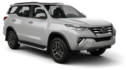 HERTZ Car hire Francistown - Airport Suv car - Toyota Fortuner