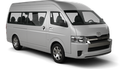 SIXT Car hire Beira - Airport Van car - Toyota Hiace