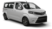 AVIS Car hire Riga - Downtown Van car - Toyota Proace