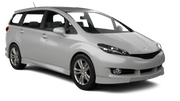 ALAMO Car hire Nagoya - Downtown Standard car - Toyota Wish