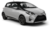 BUDGET Car hire Limassol City Economy car - Toyota Yaris