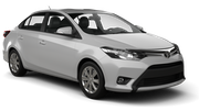 SIXT Car hire Las Vegas - Airport Compact car - Toyota Yaris Sedan