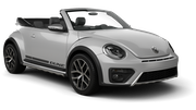 AVIS Car hire Gosier - Building Shoca Convertible car - Volkswagen Beetle Convertible
