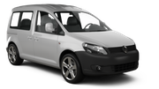GREEN MOTION Car hire London - Airport - Heathrow Van car - Volkswagen Caddy Combo Van
