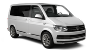 EUROPCAR Car hire Bucharest - Airport Otopeni Van car - Volkswagen Caravelle