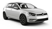 EUROPCAR Car hire Waren Compact car - Volkswagen Golf