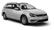 SIXT Car hire Waren Standard car - Volkswagen Golf Estate