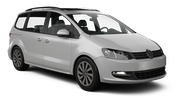 SIXT Car hire Waren Van car - Volkswagen Sharan