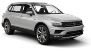 EUROPCAR Car hire Waren Suv car - Volkswagen Tiguan