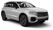 EUROPCAR Car hire Waren Suv car - Volkswagen Touareg