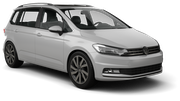 HERTZ Car hire Heviz - Downtown Van car - Volkswagen Touran