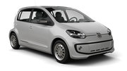 EUROPCAR Car hire Waren Mini car - Volkswagen Up